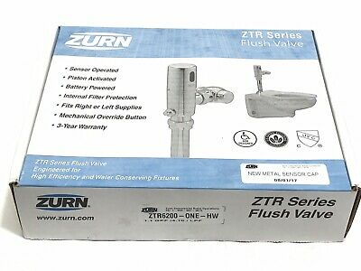 Zurn ZTR6200-ONE-HW ZTR Series Flush Valve 1.1 GPF Qty Available Ships Priority!