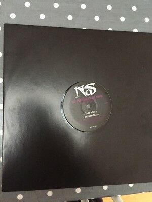 "Nas - Just A Moment / No One Else In The Room 5Trk 12"" Vinyl Promo"