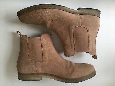 039e47d5d848e Men's Urban Outfitters Suede Leather Chelsea Boot Light Brown Crepe Sole  Size 11