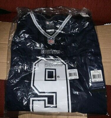 wholesale dealer f4b4c d23ec TONY ROMO DALLAS Cowboys TONY ROMO Nike Game Jersey Color Navy Sz 4XL
