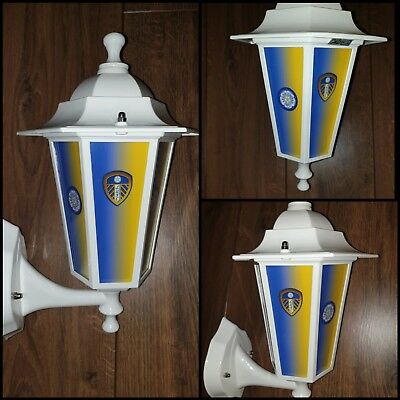 LEEDS FC light Leeds United football Yorkshire pub bar lantern Wall Light
