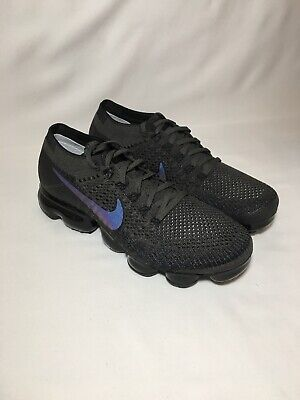 premium selection dcb6a 74d62 Women s Nike Air Vapormax Flyknit Size 9 Midnight Fog Black