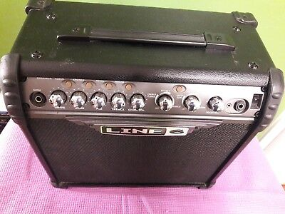 LINE 6 SPIDER 3 guitar COMBO Amp 15 watts pre-owned line 6 electric Guita  amp
