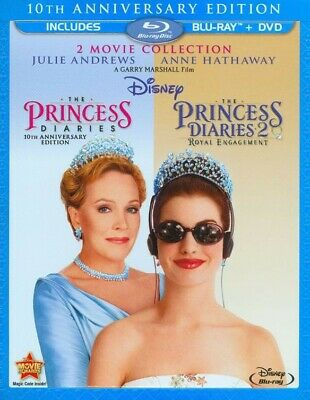 The Princees Diaries 10th Anniversary Edition & Princes Diaries 2 (Blu-ray /DVD)