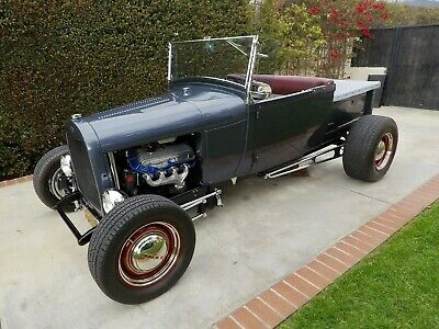 1929 Ford Model A  1929 Ford Model A Pickup Roadster All Steel w/ Top 289ci C4 Auto