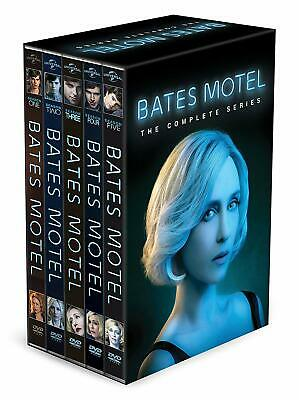 Bates Motel: The Complete Series Seasons 1-5 (15-Disc Set) New