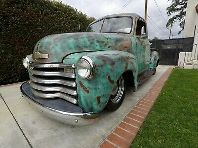 1948 Chevrolet Other Pickups 3100 1948 Chevrolet 3100 Pickup 5 Window Shortbed Patina S10 Chassis