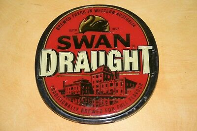"Swan Draught ""Brewed in Western Australia"" Badge/Tap/Top/Decal"