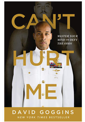 Cant Hurt Me Master Your Mind & Defy the Odds by David Goggins Hardcover NEW