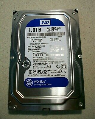 Wd Blue 1tb Hard Drive Not Recognized