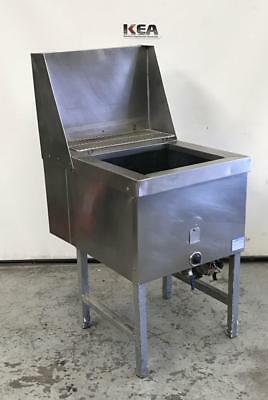 Single Pan Fish and Chips Deep Fryer