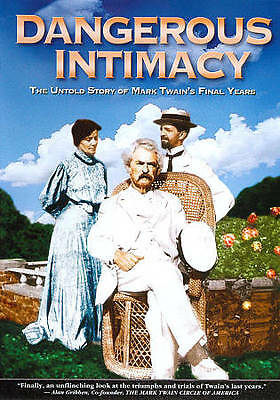 Dangerous Intimacy: The Untold Story of Mark Twain New Sealed DVD Free Shipping