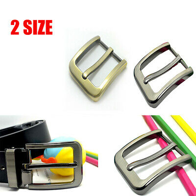 Zinc Alloy Pin Buckle for Men Leather Belt Spare Replacement 35mm / 40mm