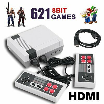 621 in 1 Retro Classic Mini NES Game Console TV HDMI with 2 Controler 4K SU gift