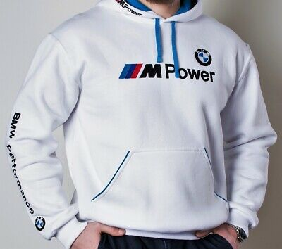 Hoodie BMW, M Power, Motorsport Club, Embroidery logos