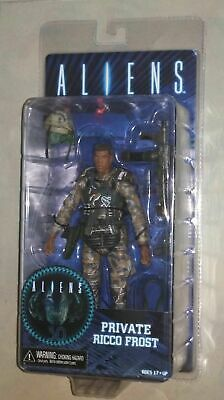 "NECA Alien Private Ricco Frost soldier 7"" Action Figure Model  Aliens Series 9"