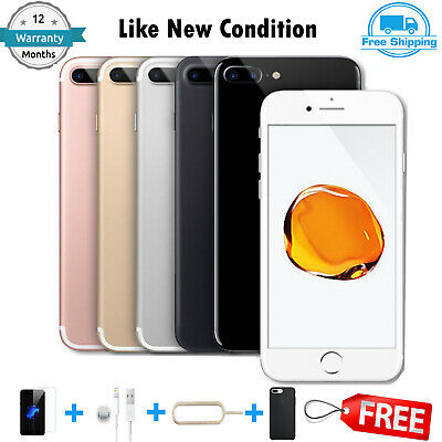 Apple iPhone 7 Plus 32GB 128GB 256GB Unlocked Sim Free Smartphone A+++ Grade