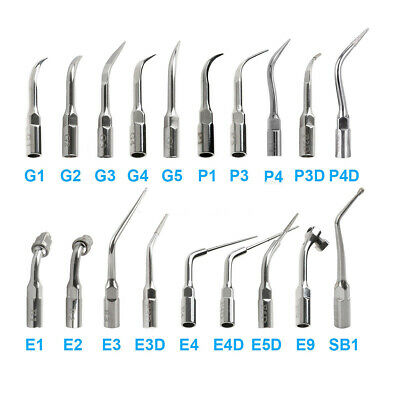 Dental Ultrasonic Scaler Scaling Handpiece Endo Perio Tip Fit EMS Woodpecker CA