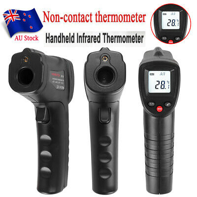 Temp Meter Temperature Gun Non-contact LCD Digital Laser IR Infrared Thermometer