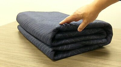 1Pack Moving Packing Blankets 82'' x 72'' Heavy Duty Protect Furniture 70LB/Doz