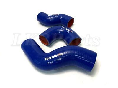 Land Rover Defender TD5 Terrafirma Silicone Intercooler Hose Kit - Blue TF722