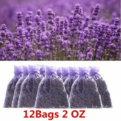12 Packs Natural Dried Lavender 2 OZ Aromatherapy Aromatic Air Refresh Fragrance