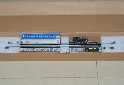NEW Genuine Dell PowerEdge R210 2/4 Post 1U Static Rail Kit JWFR6