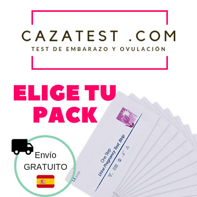 Test de EMBARAZO Ultrasensibles 10 miu ¡Packs ECONÓMICOS!