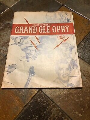 Grand Ole Opry Tickets >> 3 Original 1950 S Grand Ole Opry Unused Tickets Acuff