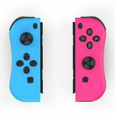 LR Joy-Con Controller Gamepad Replacement for Nintendo Switch Console Red & Blue