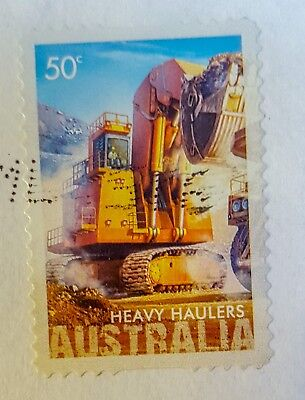 Australian Postage Stamps Australia SG 2967 50 cent, Face shovel in mine