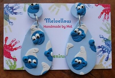 Smurfs dangles Melvellous earrings