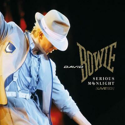 David Bowie - SERIOUS MOONLIGHT LIVE 1983 REMASTERED 2 CD  Nuovo Sigillato