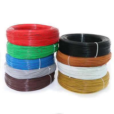 UL1332 20AWG FEP Wire Single Core Stranded Tinned Copper Cable O.D 1.57mm