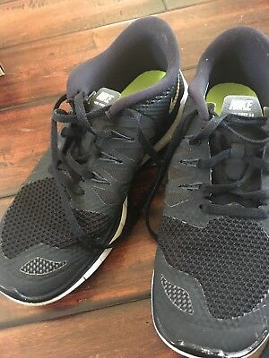 590e3e7ef2e0 NIKE Free 5.0 GS Shoes Youth Boys 5y   EUR 37.5 Black White Girls Unisex EUC