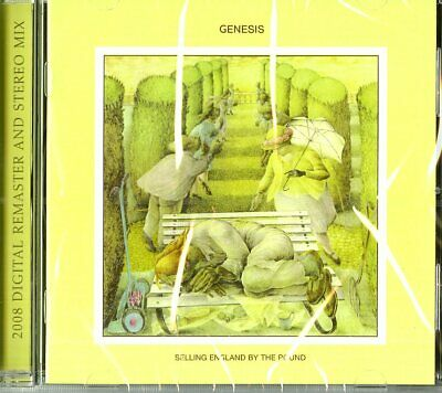 Genesis  Selling England By The Pound  Cd Audio Remaster 2008 Nuovo Sigillato