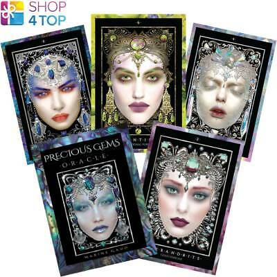 Precious Gems Oracle Cards Deck Maxine Gadd Us Games Systems Metaphysical New