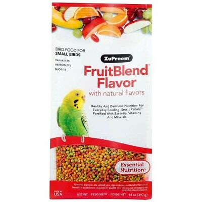 ZUPREEM FRUITBLEND SMALL - COMPLETE FOOD FOR BUDGIES 397g