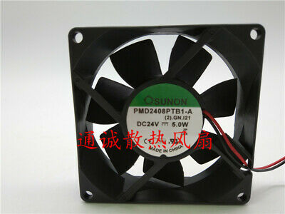SUNON PMD2408PTB1-A 24V 5.0W  8cm Inverter cooling fan