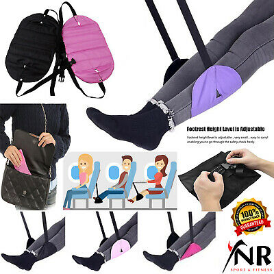 Airplane Footrest Foot Carry Flight Leg Pillow Rest Hammock Portable Travel Pad