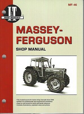 Massey Ferguson Tractor Workshop Manual for 340, 350, 360 and 399 including 4WD