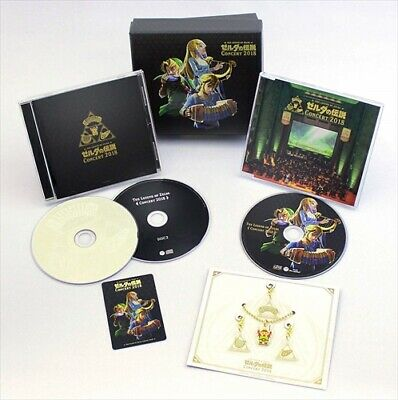 THE LEGEND OF ZELDA CONCERT 2018 Limited Edition 2CD + BLU-RAY Tracking JAPAN