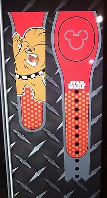 DISNEY PARKS Star Wars Chewbacca RED Magic Band Magicband 2 Unlinked