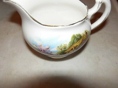 Royal Vale Country Cottage  Small  Cream  Milk Jug  Unboxed As Shown   3.5 X 5""