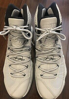 online store 4e325 1f0fe Nike Air Elite Lebron James Xiii 13 Sneakers Limited Edition Wolf Gray