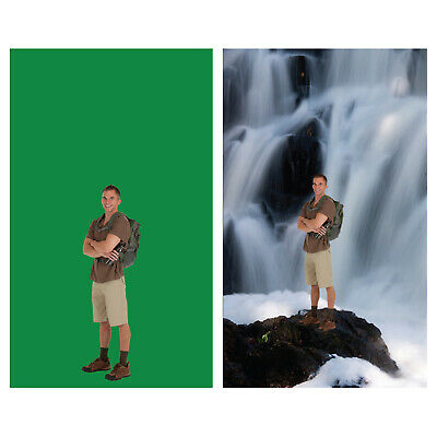 Chromakey Green 10X12 feet Backdrop Perfect for Green Screen (NEW)