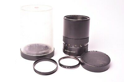 Lens Leica Leitz Elmarit - R f/2.8 - 135mm #2378381. With box and filter