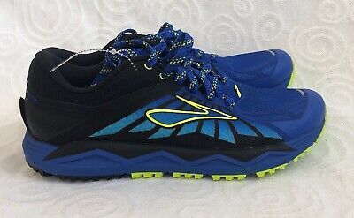abfda51aecd BROOKS CALDERA 2 Men s TRAIL Running Shoes 1102421D445 Blue Lime Size 8.5D