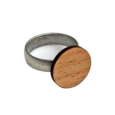 Customizable Wood Adjustable Statement Ring - View the Selection!