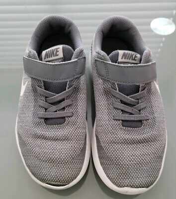 new styles 4009f af608 Nike Kids Flex Experience RN 7 Running Shoes Size 2Y Gray and White